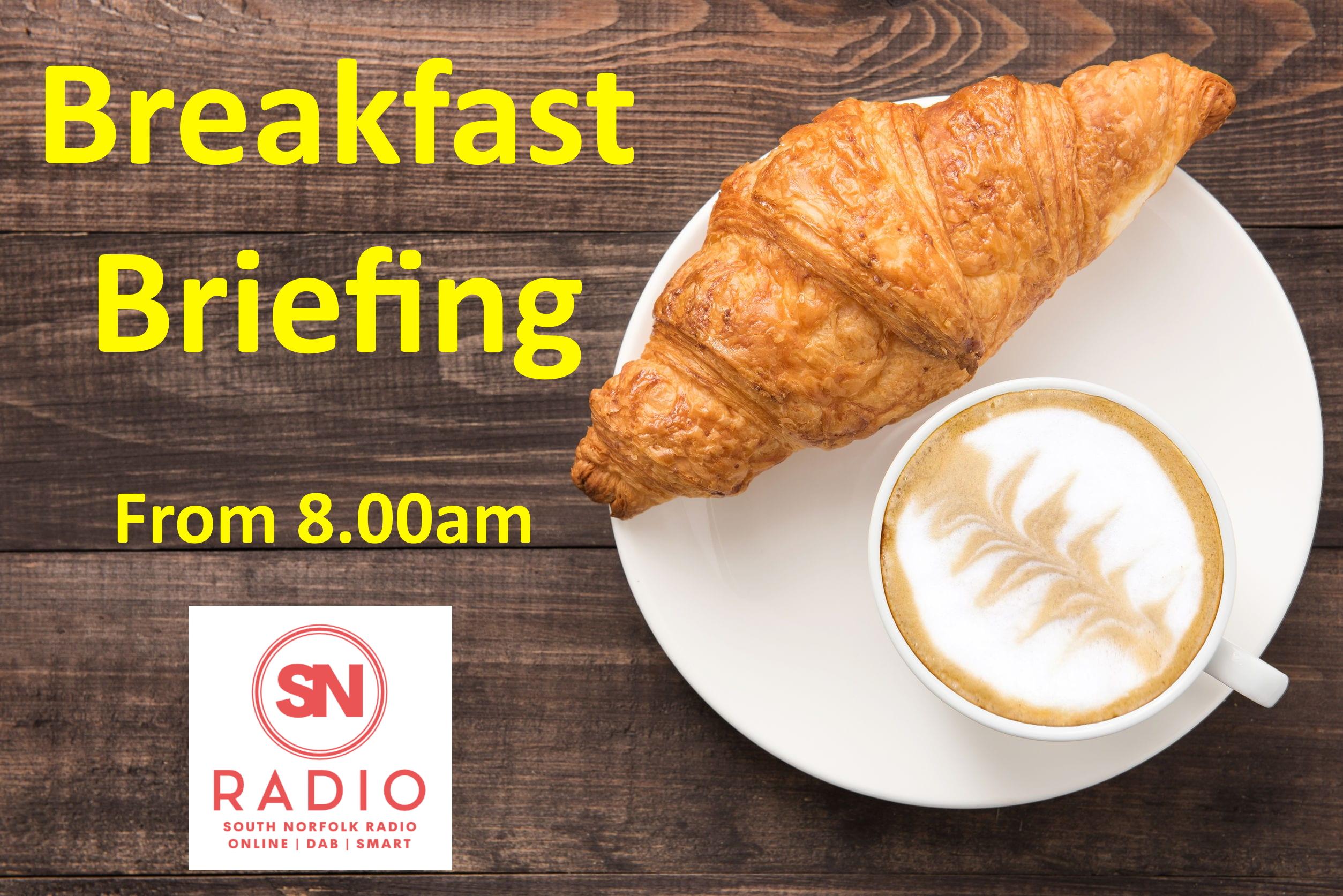 #Breakfast Briefing